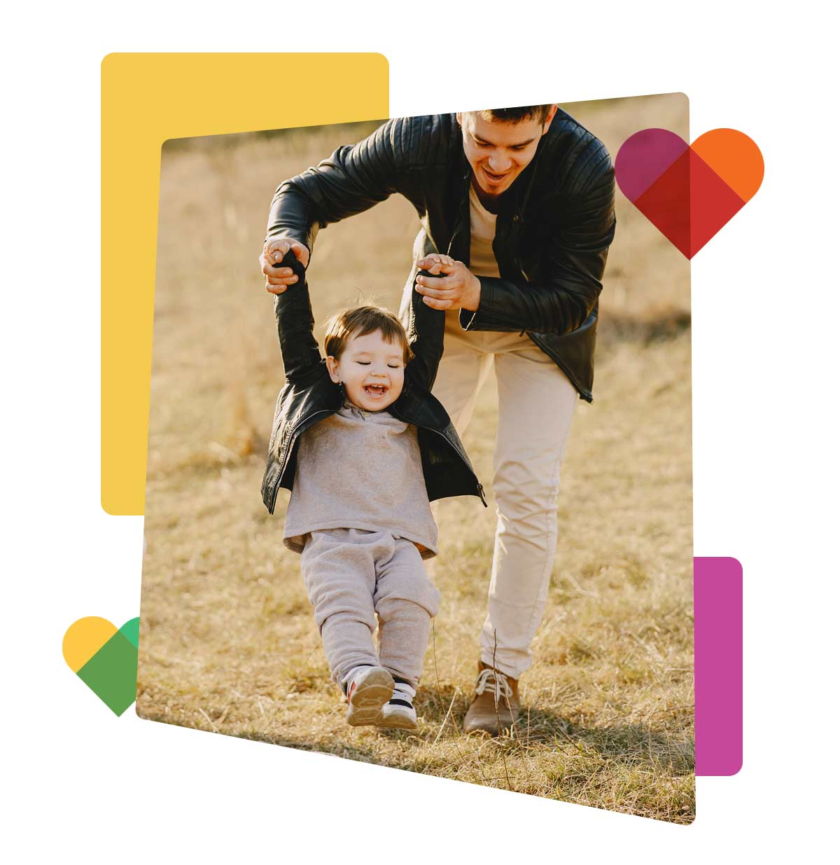 father-son-outside-collage-graphic